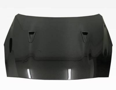 VIS Racing - Carbon Fiber Hood OEM  Style for Nissan SKYLINE R35 (GTR) 2DR 2009-2020 - Image 2