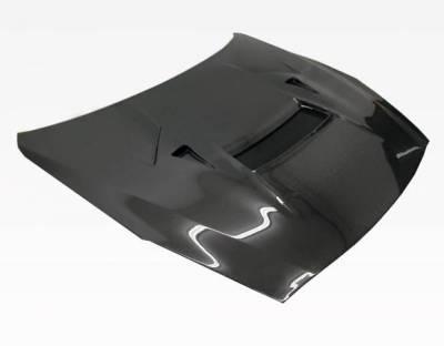 VIS Racing - Carbon Fiber Hood VRS Style for Nissan SKYLINE R35 (GTR) 2DR 2009-2020 - Image 2