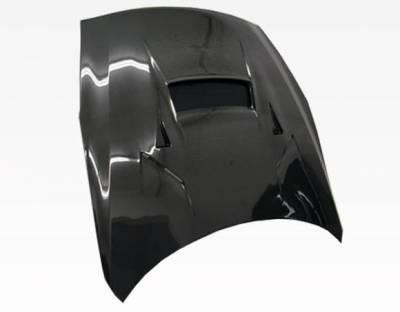 VIS Racing - Carbon Fiber Hood VRS Style for Nissan SKYLINE R35 (GTR) 2DR 2009-2020 - Image 3