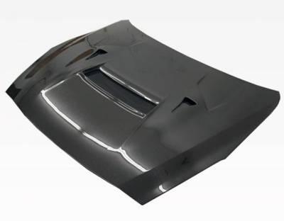 VIS Racing - Carbon Fiber Hood VRS Style for Nissan SKYLINE R35 (GTR) 2DR 2009-2020 - Image 4