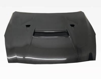 VIS Racing - Carbon Fiber Hood VRS Style for Nissan SKYLINE R35 (GTR) 2DR 2009-2020 - Image 5