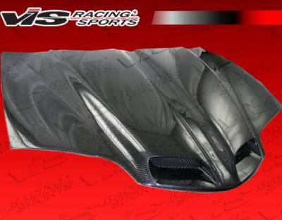 VIS Racing - Carbon Fiber Hood GTO Style for Pontiac Trans AM 2DR 98-02 - Image 1