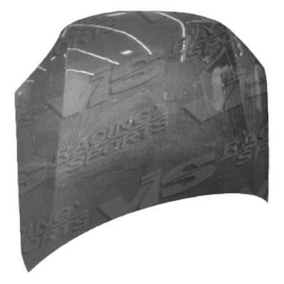 VIS Racing - Carbon Fiber Hood OEM Style for Pontiac Vibe 4DR 03-05 - Image 2