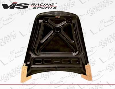 VIS Racing - Carbon Fiber Hood OEM Style for Porsche 997 2DR 05-11 - Image 2