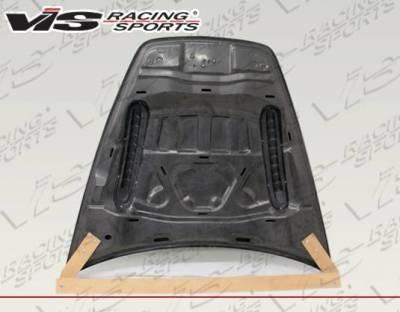 VIS Racing - Carbon Fiber Hood SMC Style for Porsche Cayenne 4DR 2011-2017 - Image 2