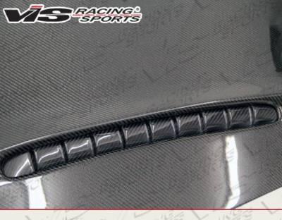 VIS Racing - Carbon Fiber Hood SMC Style for Porsche Cayenne 4DR 2011-2017 - Image 3