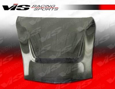 VIS Racing - Carbon Fiber Hood G Tech Style for Porsche Cayman 2DR 06-12 - Image 1