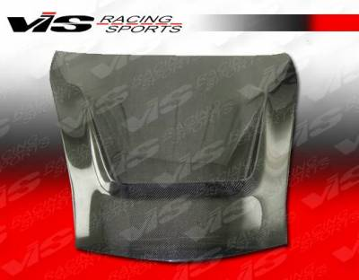VIS Racing - Carbon Fiber Hood G Tech Style for Porsche Cayman 2DR 06-12 - Image 2