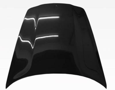 VIS Racing - Carbon Fiber Hood OEM Style for Porsche Panamera 4DR 2010-2016 - Image 3