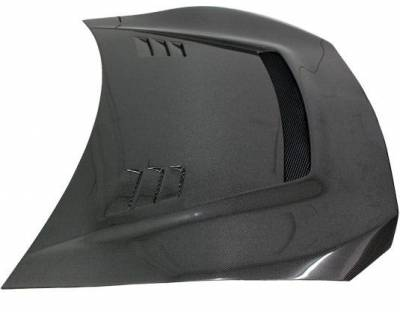 VIS Racing - Carbon Fiber Hood JTC Style for Scion FRS 2DR 2013-2020 - Image 3
