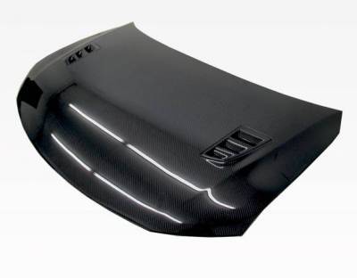 VIS Racing - Carbon Fiber Hood RR Style for Scion TC 2DR 11-13 - Image 1