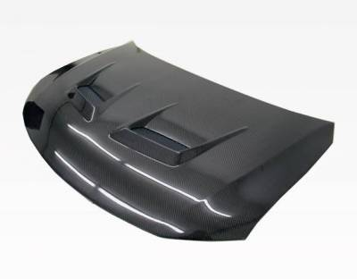 VIS Racing - Carbon Fiber Hood Terminator Style for Scion TC 2DR 11-13 - Image 1