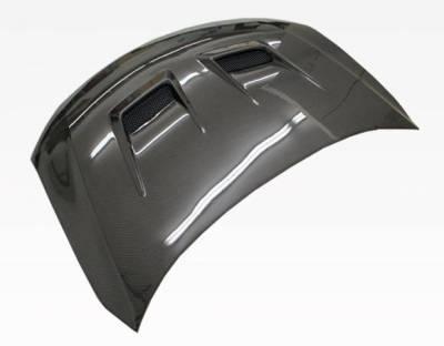 VIS Racing - Carbon Fiber Hood Terminator Style for Scion TC 2DR 11-13 - Image 2
