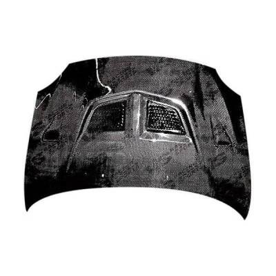 VIS Racing - Carbon Fiber Hood EVO Style for Scion TC 2DR 05-10 - Image 2