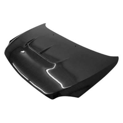 VIS Racing - Carbon Fiber Hood Zyclone Style for Scion TC 2DR 05-10 - Image 1