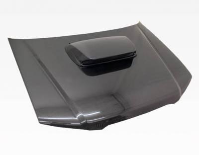 VIS Racing - Carbon Fiber Hood STI Style for Subaru Forester 4DR 03-05 - Image 2