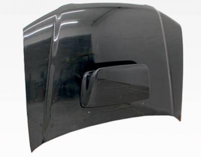 VIS Racing - Carbon Fiber Hood STI Style for Subaru Forester 4DR 03-05 - Image 3