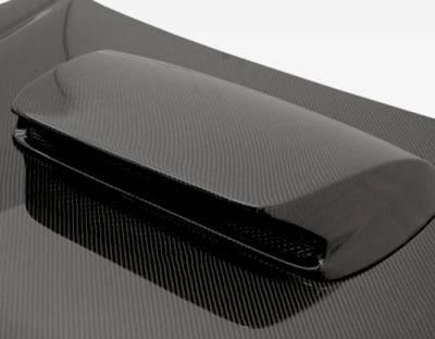 VIS Racing - Carbon Fiber Hood STI Style for Subaru Forester 4DR 03-05 - Image 4