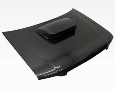 VIS Racing - Carbon Fiber Hood STI Style for Subaru Forester 4DR 01-02 - Image 2
