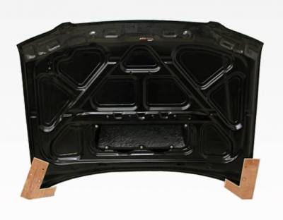 VIS Racing - Carbon Fiber Hood STI Style for Subaru Forester 4DR 01-02 - Image 3