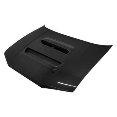 VIS Racing - Carbon Fiber Hood V Line Style for Subaru Legacy 4DR 95-99 - Image 1