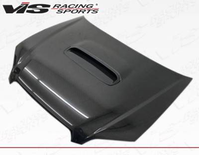 VIS Racing - Carbon Fiber Hood STI Style for Subaru Legacy 4DR 05-09 - Image 2