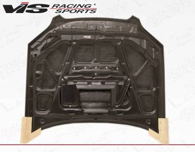 VIS Racing - Carbon Fiber Hood STI Style for Subaru Legacy 4DR 05-09 - Image 4