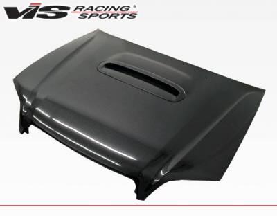 VIS Racing - Carbon Fiber Hood STI Style for Subaru Legacy 4DR 00-04 - Image 1