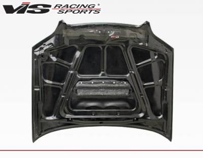VIS Racing - Carbon Fiber Hood STI Style for Subaru Legacy 4DR 00-04 - Image 3