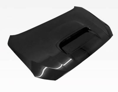 VIS Racing - Carbon Fiber Hood STI Style for Subaru WRX 4DR 2015-2020 - Image 2