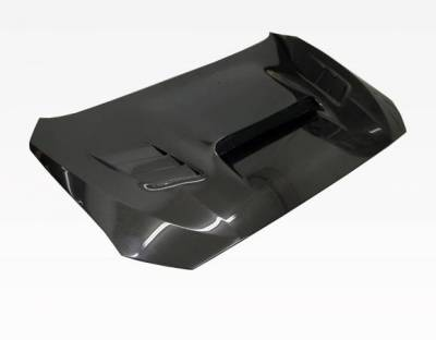 VIS Racing - Carbon Fiber Hood VRS Style for Subaru WRX 4DR 2015-2020 - Image 2