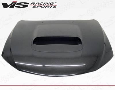 VIS Racing - Carbon Fiber Hood STI Style for Subaru WRX Hatchback & 4DR 08-14 - Image 3