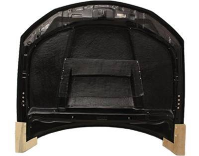 VIS Racing - Carbon Fiber Hood Tracer Style for Subaru WRX Hatchback & 4DR 08-14 - Image 5