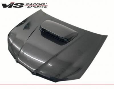 VIS Racing - Carbon Fiber Hood STI Style for Subaru WRX 4DR 06-07 - Image 1
