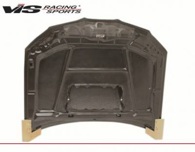 VIS Racing - Carbon Fiber Hood STI Style for Subaru WRX 4DR 06-07 - Image 3
