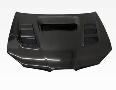 VIS Racing - Carbon Fiber Hood VRS Style for Subaru WRX 4DR 06-07 - Image 2