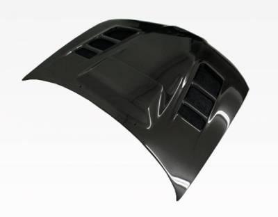 VIS Racing - Carbon Fiber Hood VRS Style for Subaru WRX 4DR 06-07 - Image 3