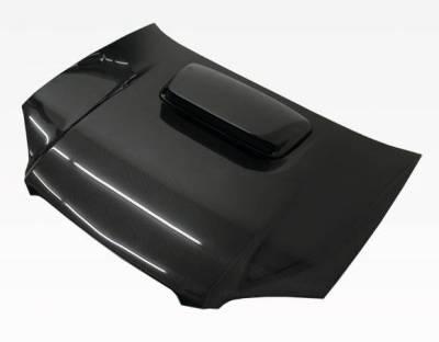 VIS Racing - Carbon Fiber Hood STI Style for Subaru WRX 4DR 04-05 - Image 2