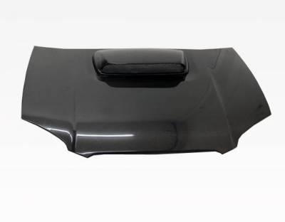 VIS Racing - Carbon Fiber Hood STI Style for Subaru WRX 4DR 04-05 - Image 3