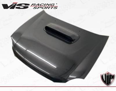 VIS Racing - Carbon Fiber Hood STI Style for Subaru WRX 4DR 02-03 - Image 2