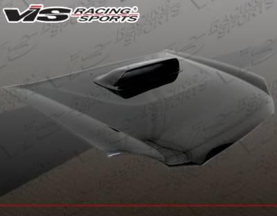 VIS Racing - Carbon Fiber Hood STI Style for Subaru WRX 4DR 02-03 - Image 4