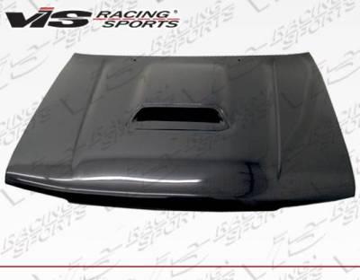 VIS Racing - Carbon Fiber Hood OEM/Scoop Style for Toyota 4 Runner 4DR 96-02 - Image 1