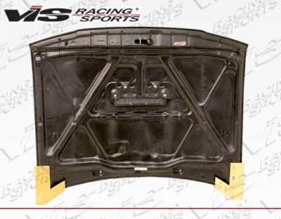 VIS Racing - Carbon Fiber Hood OEM/Scoop Style for Toyota 4 Runner 4DR 96-02 - Image 4