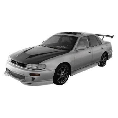VIS Racing - Carbon Fiber Hood Invader Style for Toyota Camry 4DR 92-96 - Image 1