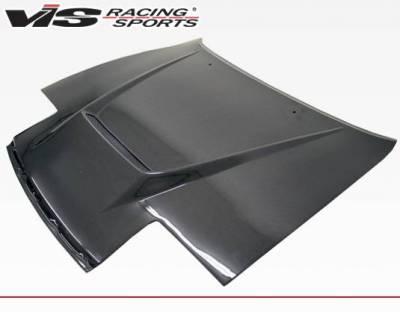 VIS Racing - Carbon Fiber Hood Invader Style for Toyota Celica 2DR 90-93 - Image 1