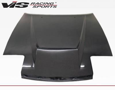 VIS Racing - Carbon Fiber Hood Invader Style for Toyota Celica 2DR 90-93 - Image 3
