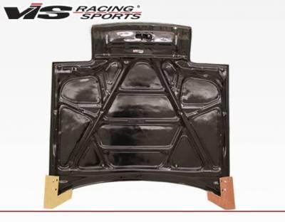 VIS Racing - Carbon Fiber Hood OEM Style for Toyota Celica 2DR 90-93 - Image 4