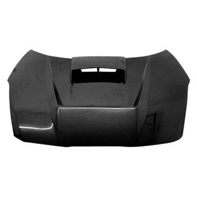 VIS Racing - Carbon Fiber Hood Invader Style for Toyota Celica 2DR 00-05 - Image 2