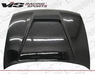VIS Racing - Carbon Fiber Hood Invader Style for Toyota Corolla 4DR 93-97 - Image 1