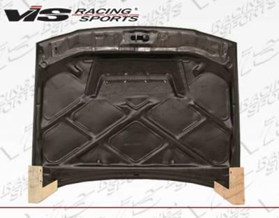 VIS Racing - Carbon Fiber Hood Invader Style for Toyota Corolla 4DR 93-97 - Image 2